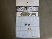 "FOXMODELS【FM-D35014】1/35 M4A3E8 ""EASY EIGHT""Decal Set1(T社対応)"