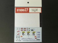 STUDIO27【DC-1033】1/24 ALPINE A110 #95 Tour de France Auto 1972 Decal