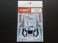 "STUDIO27【DC-1079】1/24 Ford Fiesta ""LOTOS"" #4 Acropolis Rally 2014 DECAL(BELKITS社対応)"