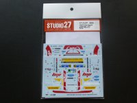 "STUDIO27【DC-1085】1/24 Ford Fiesta ""Jipocar"" #21 Rally Mexico 2014 DECAL(BELKITS社対応)"