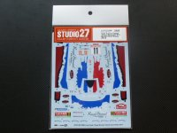 "STUDIO27【DC-1086】1/24 Ford Fiesta ""Royal Bernardo"" #11 Monte Carlo Rally 2014 DECAL(BELKITS社対応)"