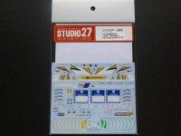 "STUDIO27【DC-1098】1/24 BMW Z4""VDS""#25/26 Nur24h 2015 DECAL(F社対応)"