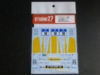 "STUDIO27【DC-1102】1/24 BMW Z4""Schubert Motorsports""#19 Nur24h 2015 DECAL(F社対応)"