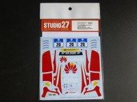 "STUDIO27【DC-1103】1/24 BMW Z4""Schubert Motorsports""#20 Nur24h 2015 DECAL(F社対応)"