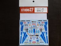 STUDIO27【DC-1130】1/24 037 Rally #12 RACC Monte-Carlo 1986 Decal(H社対応)