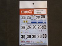 STUDIO27【DC-1138】1/24 512S #35/#26/#30 Daytona 1970 Decal (F社対応)