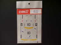 "STUDIO27【DC-353】1/24 ニッサンスカイライン GT-R ""AIM"" Gr.A '92"