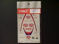 "STUDIO27【DC-382】1/24 トヨタ87C""STP""鈴鹿'88"