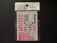 STUDIO27【DC-405】1/24 トヨタTS010 SWC/JSPCデカール