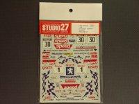 "STUDIO27【DC-512C】1/24 プジョー206WRC ""SPEED""'01"