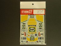 """STUDIO27【DC-516C】1/24 スバルインプレッサ WRC""""api""""サンレモ '01"""