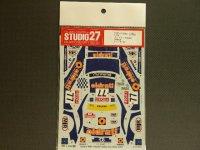 """STUDIO27【DC-518C】1/24 スバルインプレッサ WRC""""Oldrati""""サンレモ '01"""