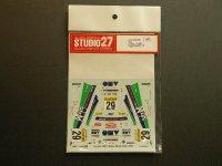 """STUDIO27【DC-550C】1/24 トヨタカローラ""""OMV""""モンテカルロ'02"""