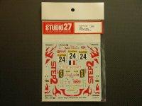 """STUDIO27【DC-554C】1/24 トヨタカローラ""""STEP2""""モンテカルロ'02"""