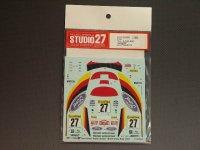 "STUDIO27【DC-562C】1/24 フォードフォーカスRS ""GERMAN""モンテカルロ'02"