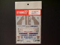 "STUDIO27【DC-589C】1/24 ニッサンスカイライン GT-R""NISMO""#22JGTC'02"