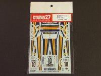 STUDIO27【DC-723C】1/24 フォードエスコートRS'1980