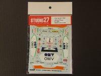 "STUDIO27【DC-734】1/24 プジョー307WRC ""MONTE-CARLO #7 OMV""'06"