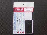 STUDIO27【DC-828】1/24 NSX スーパーGT #17 2009 DECAL(メッキシート付)
