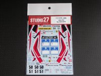 STUDIO27【DC-867】1/24 LFA Nur24h 2010 Decal