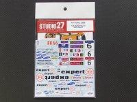 """STUDIO27【DC-886】1/24 フォードフォーカス""""expert'2009 DECAL(simil-R対応)"""