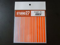 STUDIO27【FP-0028】Line Decal(蛍光レッド)
