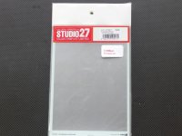 STUDIO27【FP-0017S】クロムデカール10枚(マットシルバー)プラス1枚オマケ Ver