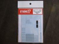 STUDIO27【FP-24195】1/24 Car Number Decal 関東1