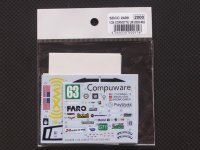 STUDIO27【SDCC-2409】1/24 CORVETTE C6R #63 LM2009スペアデカール(スタジオ対応)