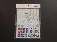STUDIO27【SDF-2009C】1/20 RE40 - Spare Decal(スタジオ対応)