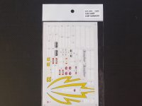 STUDIO27【SDF-2063】1/20 CART CHIP GANASSI - Spare Decal