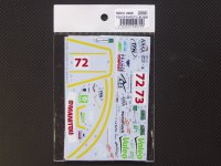 STUDIO27【SDCC-2408】1/24 CORVETTE C6R #72/73 LM2008スペアデカール(スタジオ対応)