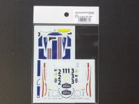 STUDIO27【SDFD-43004C】1/43 956 LM 1983(Long tail) スペアーデカール(スタジオ対応)