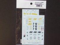 STUDIO27【SDFD-43017C】1/43 956B NEWMAN 1984(Short tail) スペアーデカール(スタジオ対応)
