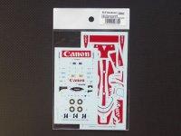 STUDIO27【SDFD-43022C】1/43 956 CANON 1985(Long tail) スペアーデカール(スタジオ対応)