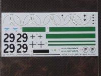 STUDIO27【SDHSC-008】1/24 Type-47GT #44 BH 1967 スペアーデカール(HSC対応)