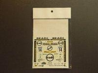 "STUDIO27【DC-025】1/24 フォードエスコート ""BRADI"" スウェーデン '96"