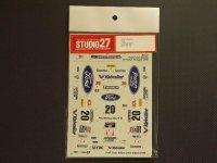 """STUDIO27【DC-278】1/24 フォードフォーカス""""FORD""""WRC'99"""