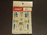 """STUDIO27【DC-309】1/24 ミツビシランサーEvo.VI""""OMV""""モンテカルロ'00"""