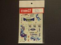 """STUDIO27【DC-354】1/24 フォードフォーカス WRC""""focus""""アクロポリス'00"""