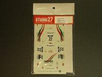 """STUDIO27【DC-375】1/24 スバルインプレッサ WRX""""oman""""ニュージーランド'00"""