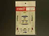 "STUDIO27【DC-404】1/24 スバルインプレッサ WRC""BURGARI""カタロニア'00"