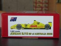 STUDIO27【NET-2015】1/20 ジョーダンEJ12 オーストラリアGP 2002廉価版