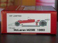 STUDIO27【NET-2022】1/20 マクラーレンM29B 1980 通販限定廉価版