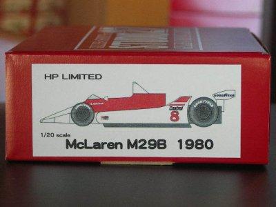 画像1: STUDIO27【NET-2022】1/20 マクラーレンM29B 1980 通販限定廉価版