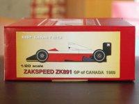 STUDIO27【NET-2024】1/20 ザクスピードZK891 カナダGP 1989 通販限定商品・限定100個