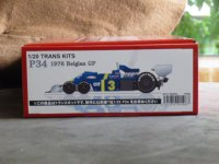 STUDIO27【TK-2072】1/20 P34 Belgian GP 1976 トランスキット(T社対応)