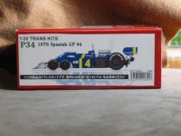 STUDIO27【TK-2074】1/20 P34 Dutch GP 1976 #4 トランスキット(T社対応)