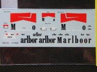 """TABU DESIGN【TABU-12018】1/12 YZR500 WGP 1994 トランスキット対応""""○バコ"""""""