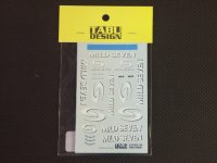 TABU DESIGN【TABU-18008】1/18 R25 タバコデカール
